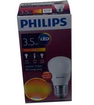... Philips Lampu LED 3 5 Watt Warm White Kuning